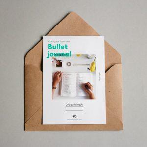 Tarjeta Regalo Bullet Journal