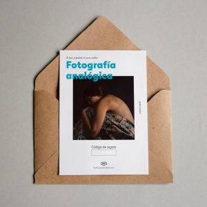 Tarjeta Regalo Fotografía Analógica