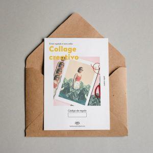 Tarjeta Regalo Collage Creativo