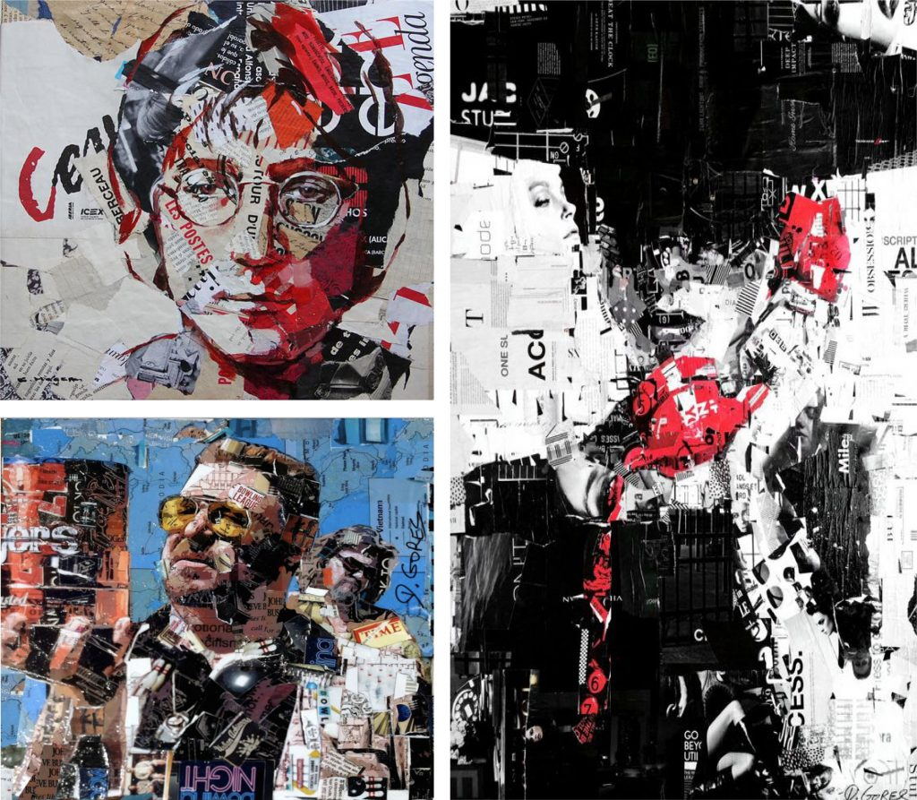 collage Derek Goges