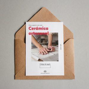 Tarjeta regalo Cerámica artesanal