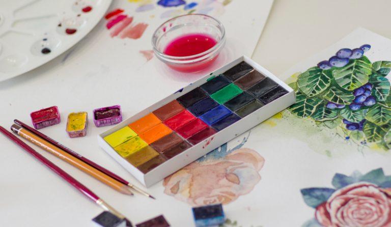 Imagen portada Ideas con acuarela para personalizar tus objetos