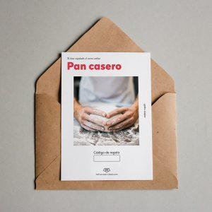 Tarjeta regalo Pan casero