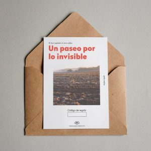 Tarjeta regalo Un paseo por lo invisible