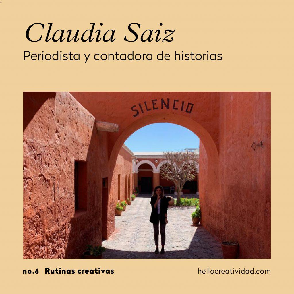 Claudia Saiz_rutinas creativas