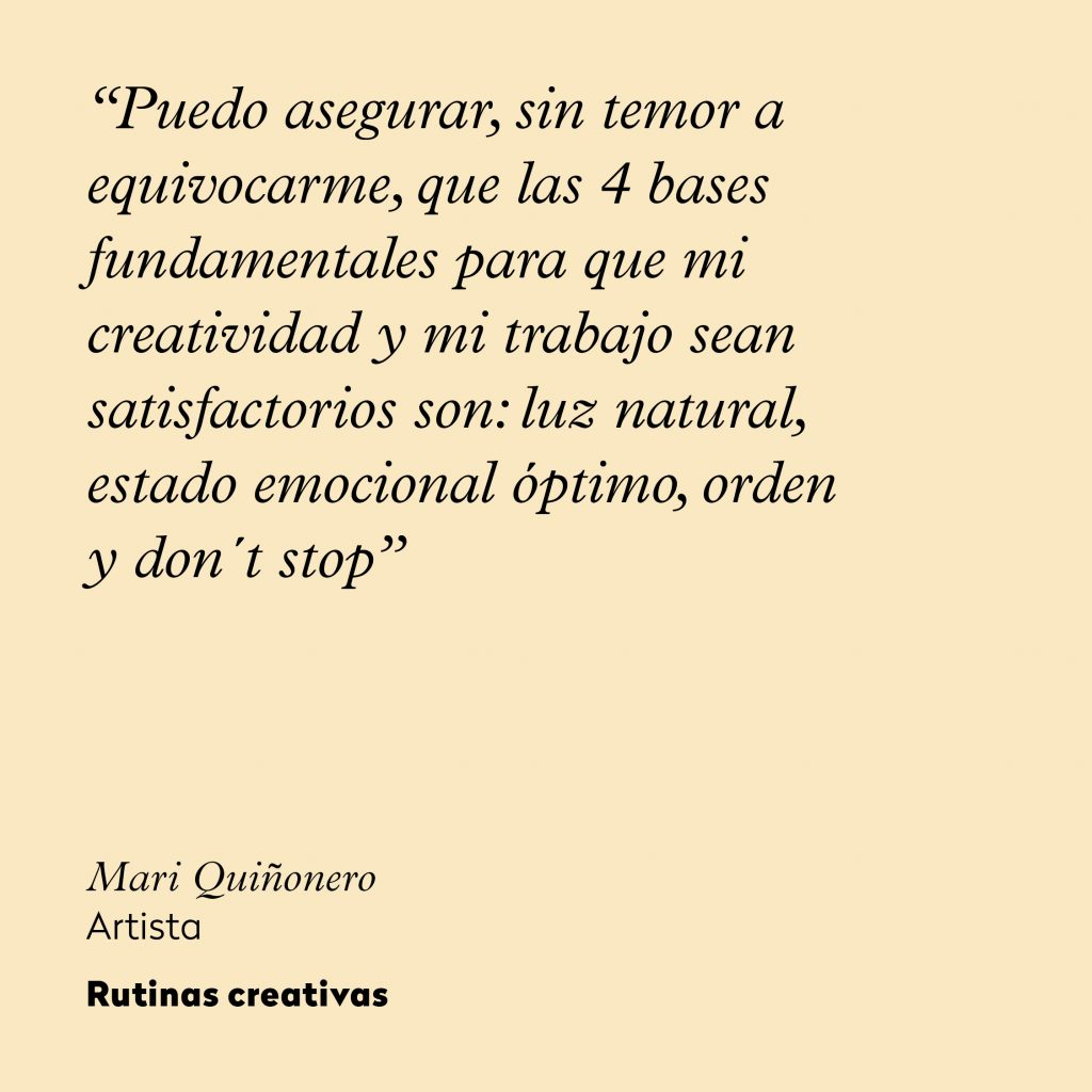 Mari Quinonero_rutinas creativas_frase