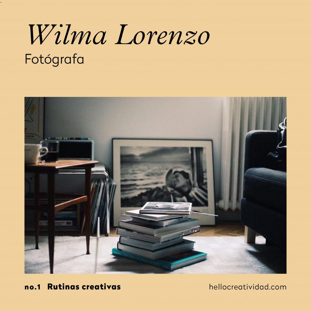 Wilma Lorenzo_rutinas creativas