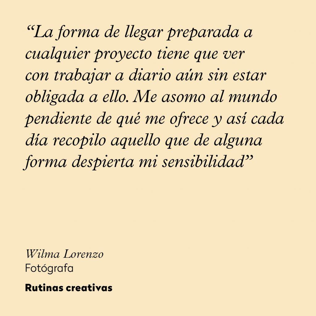 Wilma Lorenzo_rutinas creativas_frase