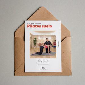 Tarjeta regalo Pilates suelo