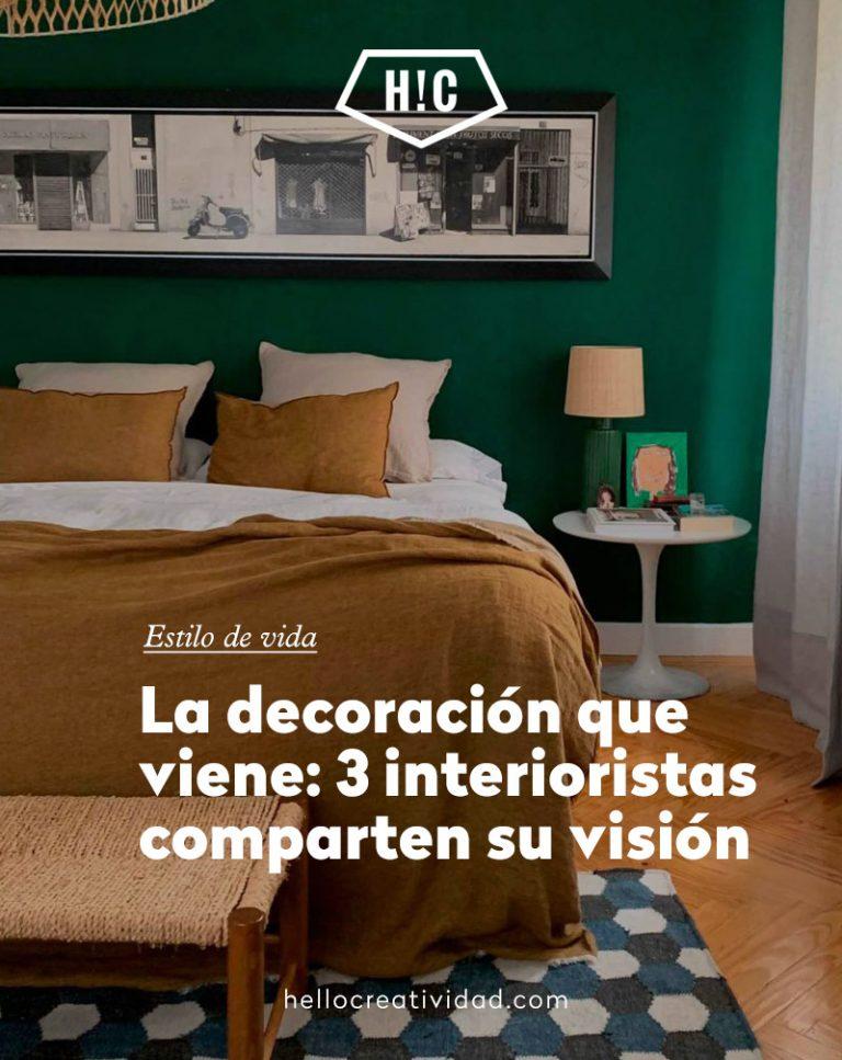 Imagen portada La decoración que viene: 3 interioristas comparten su visión