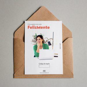 Tarjeta regalo FelizMente