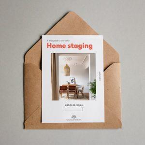 Tarjeta regalo Home staging