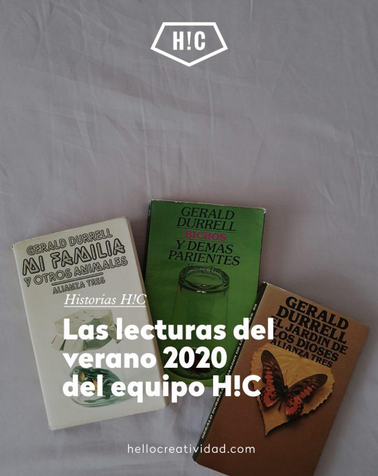 Imagen portada Lecturas del verano 2020 del equipo H!C