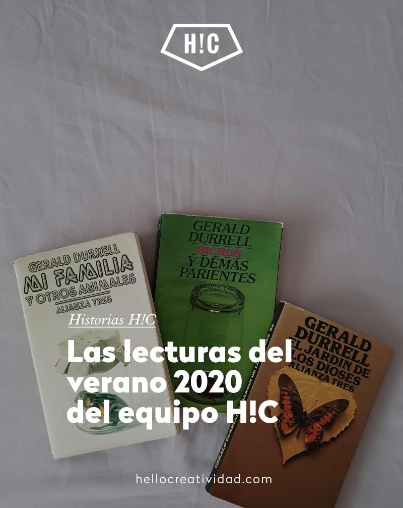 Lecturas del verano 2020 del equipo H!C