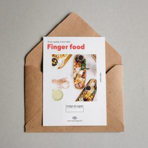 Tarjeta regalo Finger food
