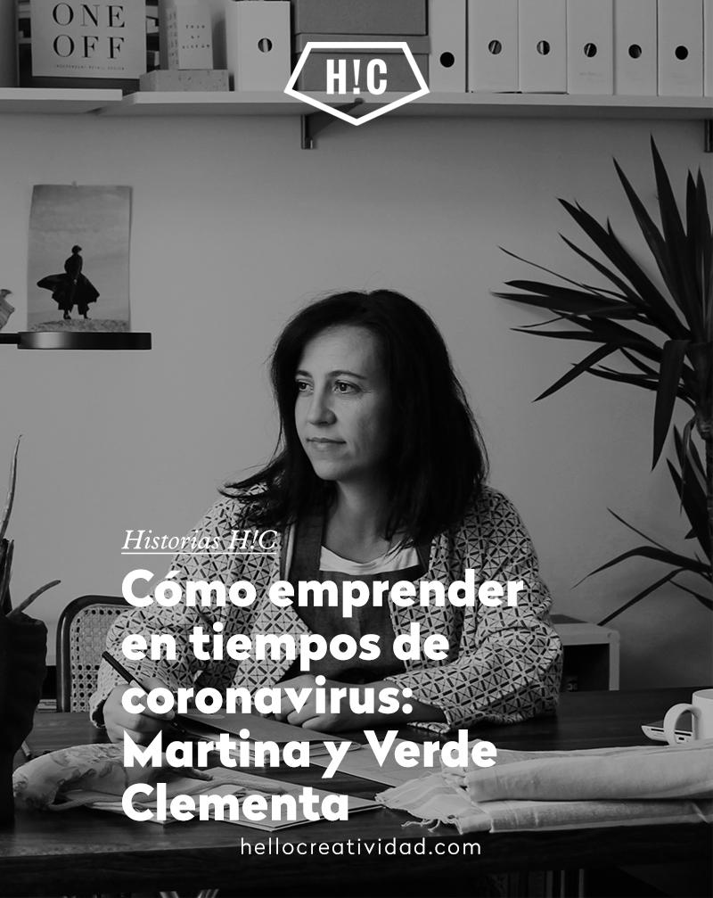 Cómo emprender en tiempos de Covid-19: Martina H. Martín y Verde Clementa