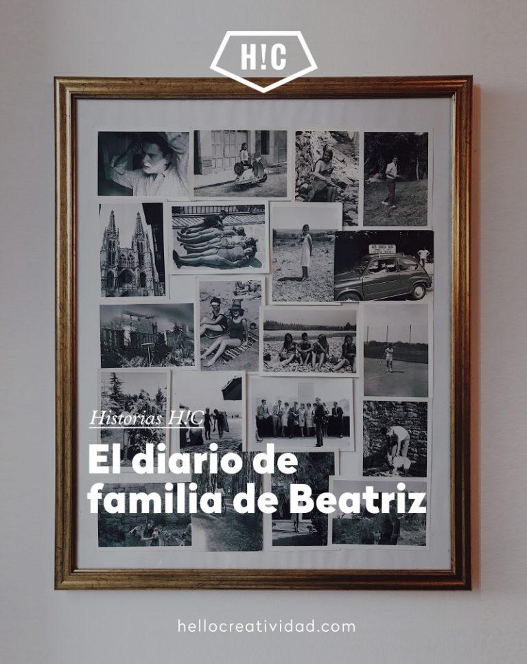 Imagen portada El diario de familia y homenaje de Beatriz