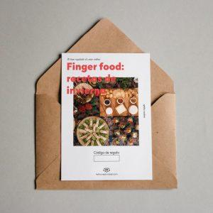 Tarjeta regalo Finger food: recetas de invierno