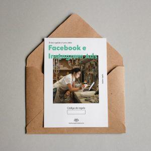 Tarjeta regalo Facebook e Instagram Ads