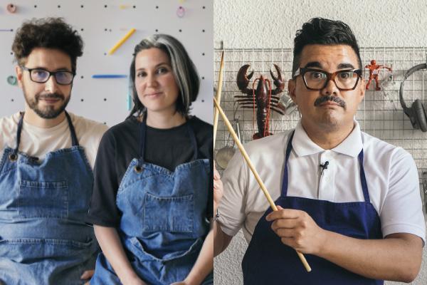 Lemon Art y Mario Soriano