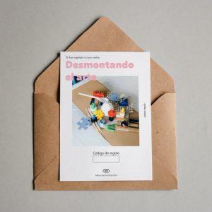 Tarjeta regalo Desmontando el arte