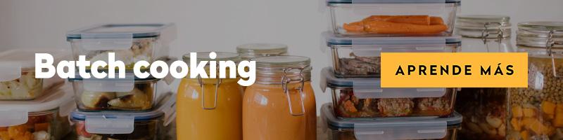 curso online de batch cooking