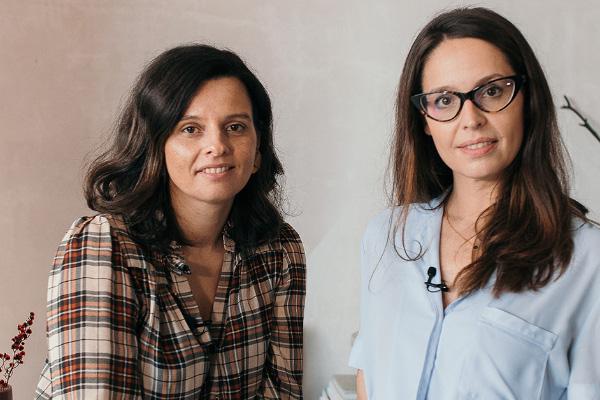 Ceci Rendón y María Pazos