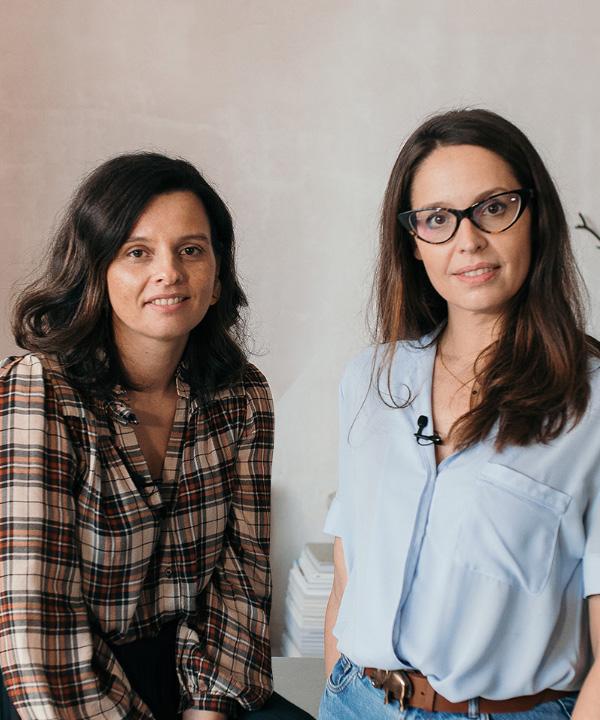 Imagen portada Ceci Rendón y María Pazos