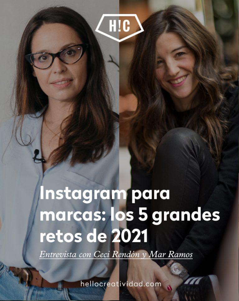 Imagen portada Instagram para marcas: los 5 grandes retos de 2021