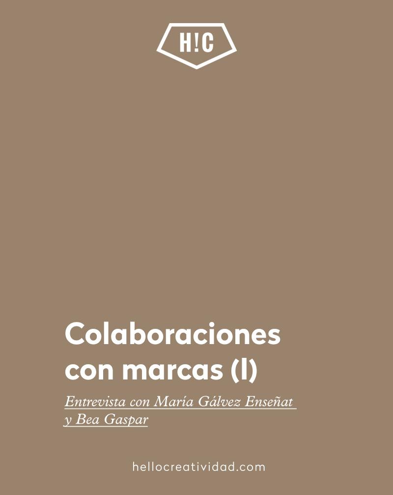 Colaboraciones con marcas (I)