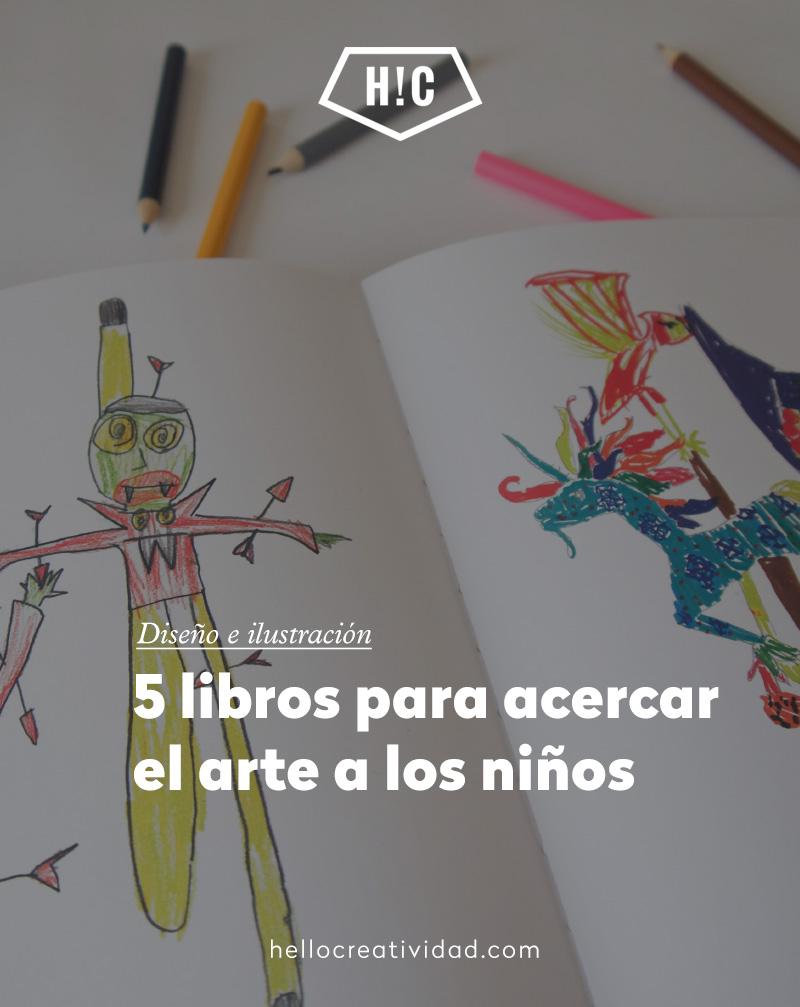 5 libros para acercar el arte a los niños