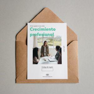 Tarjeta regalo Desarrollo profesional + Busqueda activa