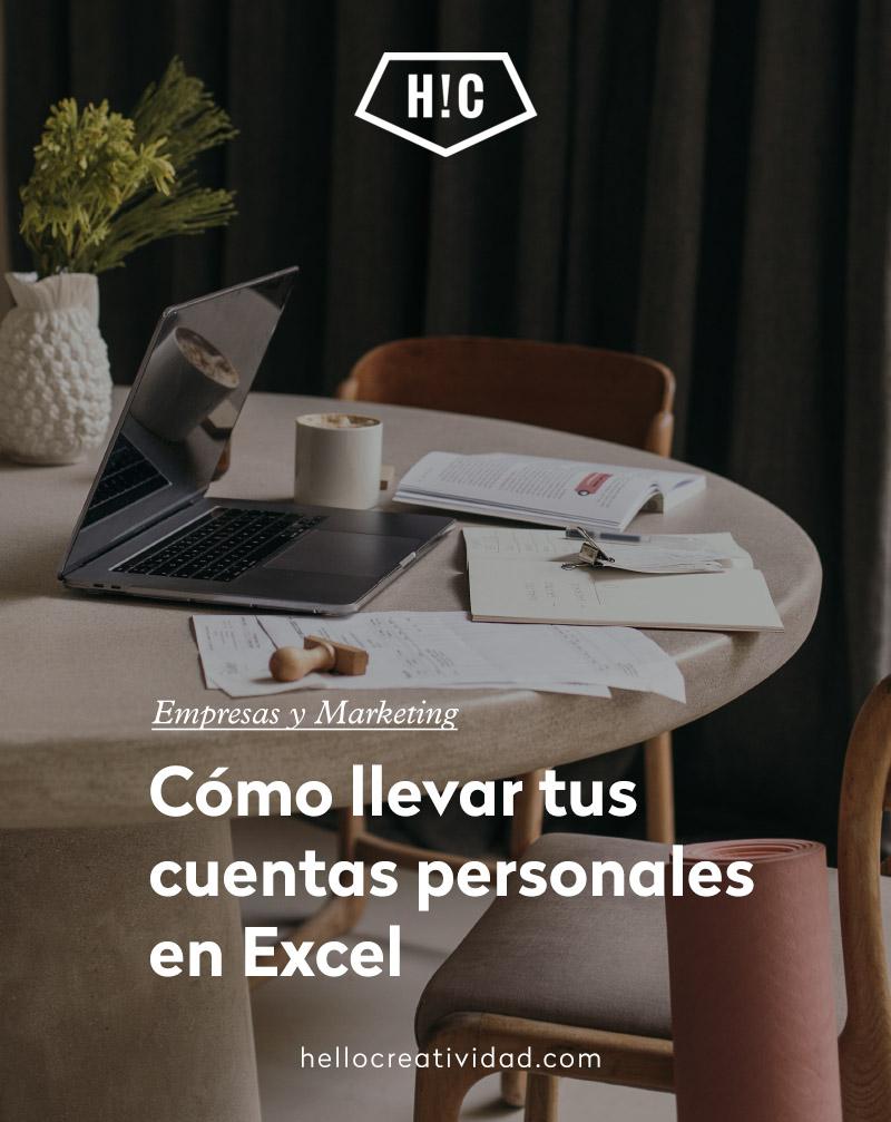 Cómo llevar tus cuentas personales en Excel