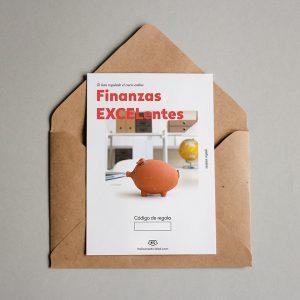 Tarjeta regalo Finanzas EXCELentes