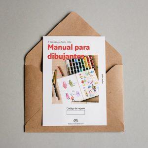 Tarjeta regalo Manual para dibujantes