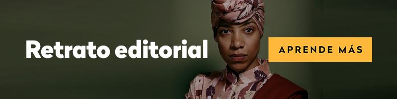 curso online de retrato editorial
