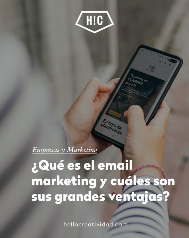 Imagen portada ¿Qué es el email marketing y cuáles son sus grandes ventajas?
