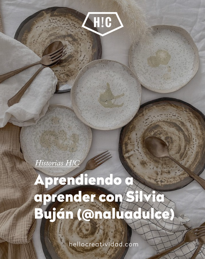 Aprendiendo a aprender con Silvia Buján (@naluadulce)