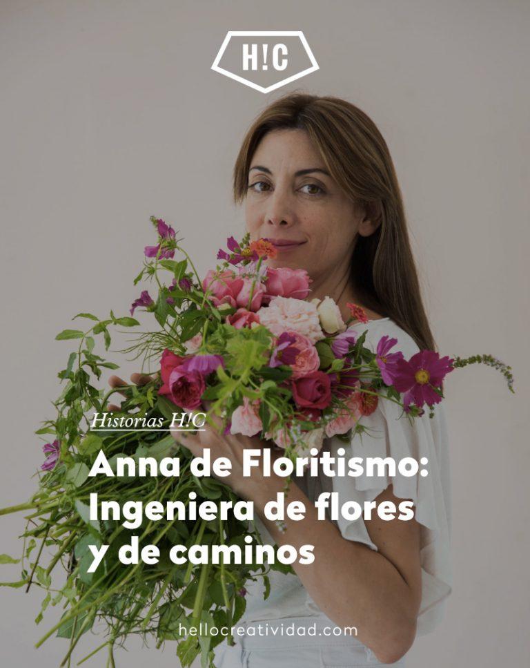Imagen portada Anna de Floritismo: Ingeniera de flores y de caminos