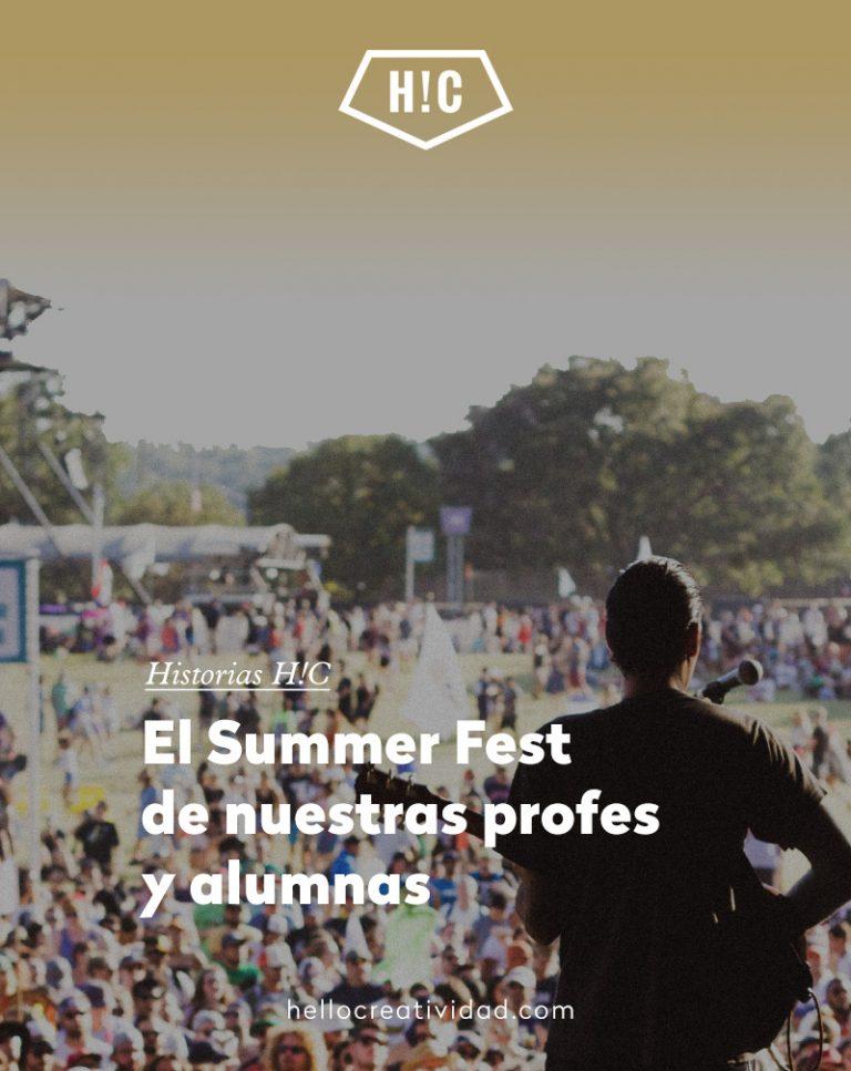 Imagen portada Esta es vuestra elección: el Summer Fest de nuestras profesoras y alumnas