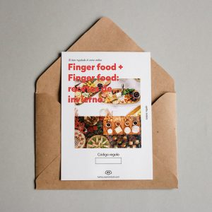 Tarjeta regalo Finger food + Finger food: recetas de invierno
