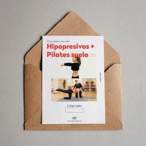 Tarjeta regalo Hipopresivos + Pilates suelo