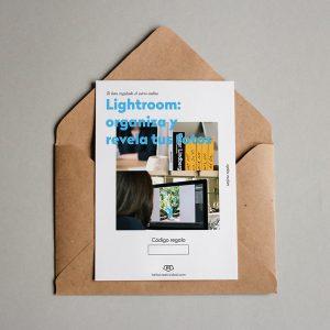 Tarjeta regalo Lightroom: organiza + revela tus fotos