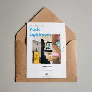 Tarjeta regalo Lightroom: organiza + revela + revela como un profesional