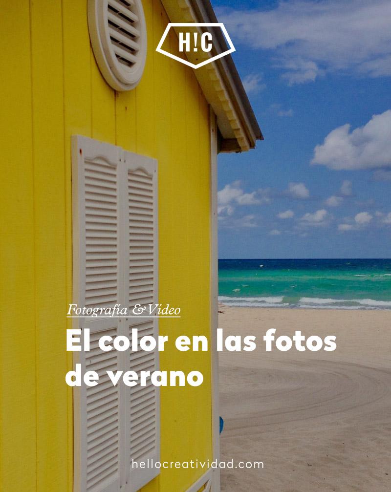 El color en las fotos de verano