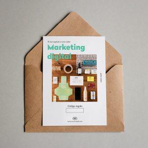 Tarjeta regalo Marketing digital