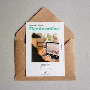 Tarjeta regalo Tienda Online