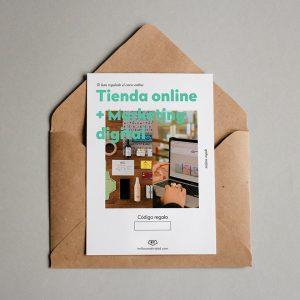 Tarjeta regalo Tienda online + Marketing digital
